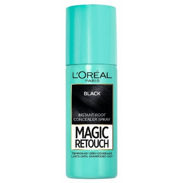 L'Oreal Magic Retouch Instant Root Concealer Spray 75ml 01 Black