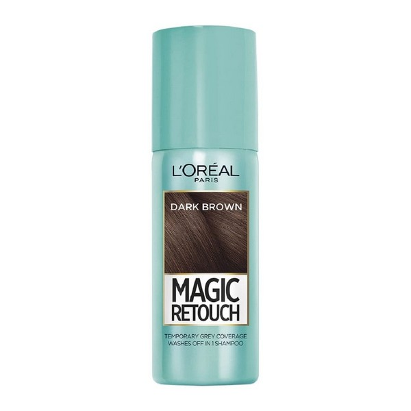 L'Oreal Magic Retouch Instant Root Concealer Spray 75ml 02 Dark Brown