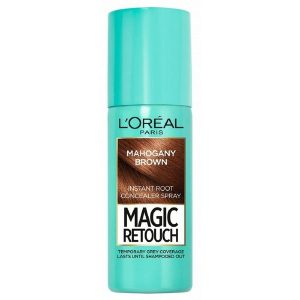 L'Oreal Magic Retouch Instant Root Concealer Spray 75ml 06 Mahogany Brown
