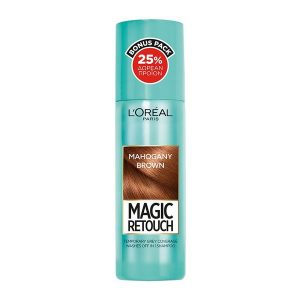 L'Oreal Magic Retouch Instant Root Concealer Spray 100ml Mahogany Brown