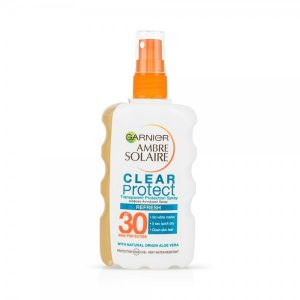 Garnier Ambre Solaire Clear Protect Refresh SPF30 Transparent Protection Spray 200ml