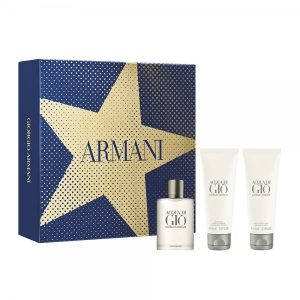 Armani Acqua di Gio Set (EDT 50ml & shower gel 75ml & after shave balm 75ml