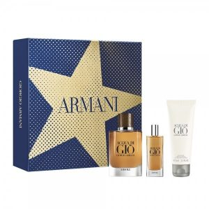 Armani Acqua di Gio Absolu Set ( EDP 75ml & EDP 15ml & After shave balm 75ml
