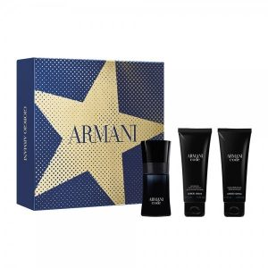 Armani Code Homme Christmas 2019 Set (EDT 50ml & shower gel 75ml & after shave balm 75ml)