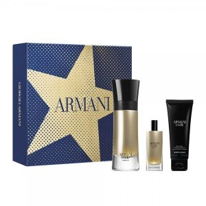 Armani Code Homme Absolu Christmas 2019  Set (EDP 60ml & EDP 15ml & shower gel 75ml