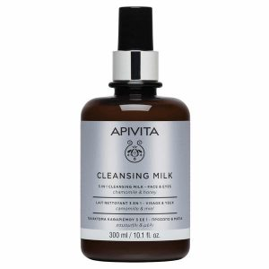 Apivita 3in1 Chamomile & Honey Cleansing Milk 300ml
