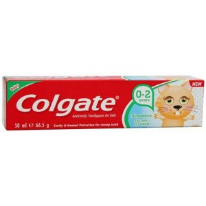 Colgate Junior Strawberry Toothpaste 0-2 years 50ml