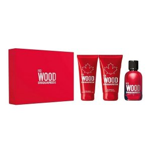 Dsquared2 Red Wood Set