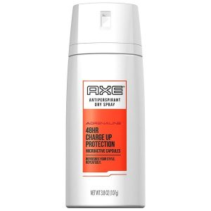Axe Adrenaine 48hr Charge Up Protection Antiperspirant dry spray 150ml
