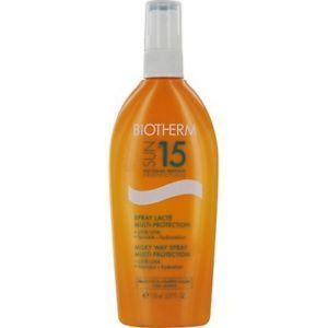 Biotherm milky way spf15 make uplti-protection spray 150ml