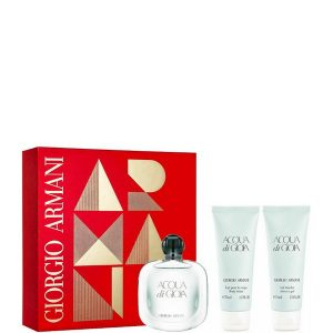 Armani Acqua di Gioia Set (EDP50ml &Body lotion 75ml & Shower gel 75ml)