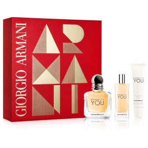 Armani Because It's You Set (EDP 50ml & Body lotion 15ml & Lip Balm)